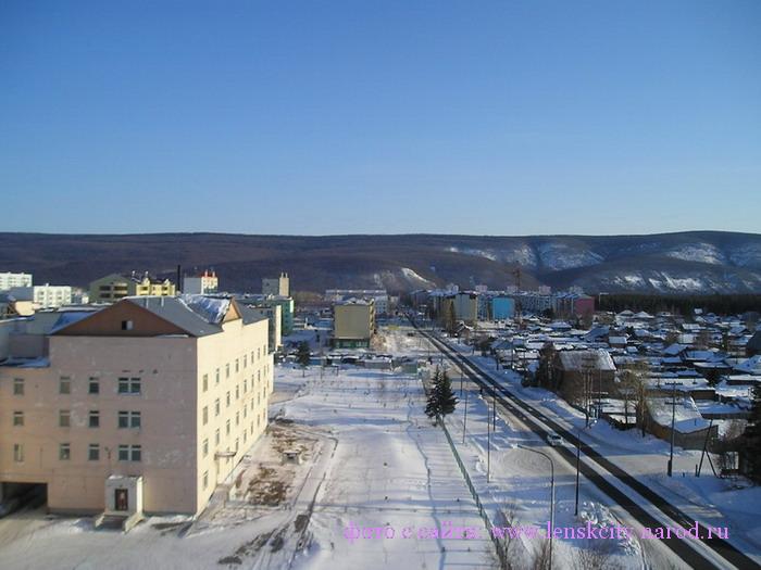 Зимний Ленск